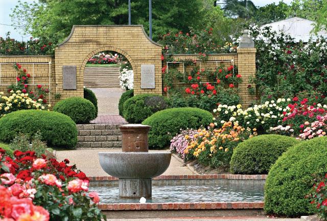Great El Paso Municipal Rose Garden